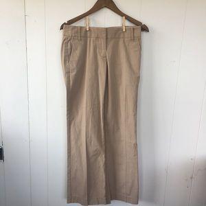 J Crew City Fit women's dress pants khaki size 2